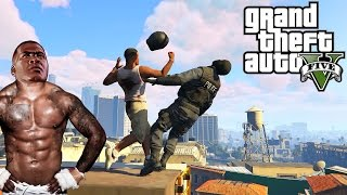Grand Theft Auto V: Hardest Knockouts (K.Os) (Punches, Snowball Hits, Brutal Kills, funny Deaths)