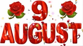 9 August Special New Birthday Status Video , Happy Birthday Wishes, Birthday Msg Quotes जन्मदिन