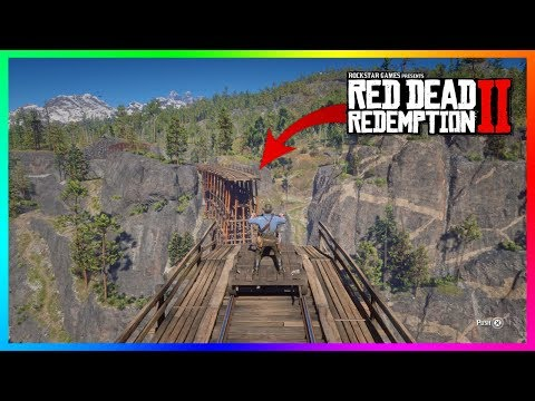 What Happens If You Ride A Handcar Off The Bridge To Nowhere In Red Dead Redemption 2? (RDR2)