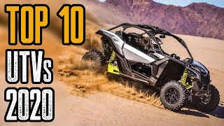 TOP 10 Best Side by Side and Sport UTVs For The Money