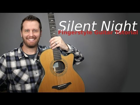 Silent Night Guitar Tutorial - With TAB!