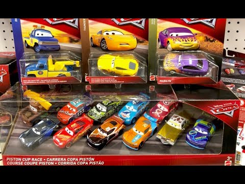 NEW 2018 Disney Cars Toys Hunt - CB Transberry & Special Cruz Ramirez - Disney Cars Diecast Club