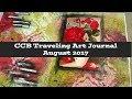 CCB Traveling Art Journal August 2017