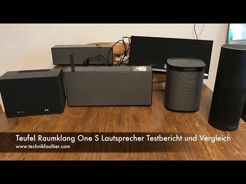 Teufel Raumfeld One S Lautsprecher Testbericht und Vergleich