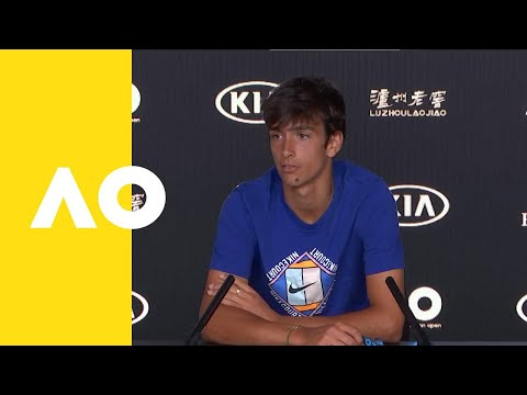 Lorenzo Musetti press conference (F) | Australian Open 2019