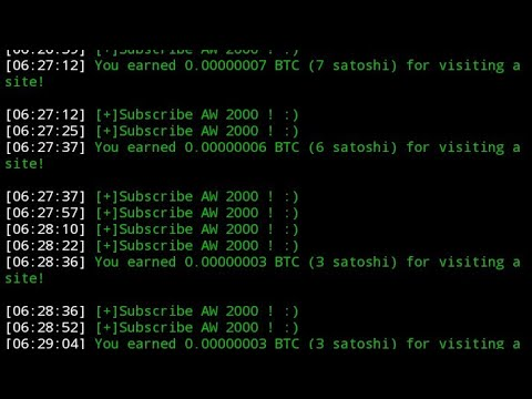 UPDATED BTC CLICK BOT SCRIPT VIA TERMUX | BYPASS CAPTCHA | AUTO