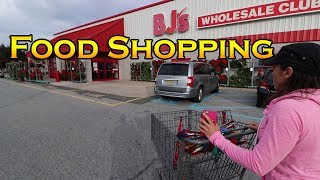 Food Shopping at BJs Wholesale Club | 2017