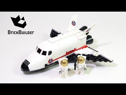 Vidéo LEGO City 60078 : La navette spatiale