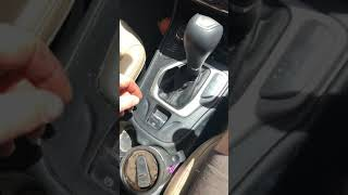2015 Jeep Cherokee unlock park to roll car