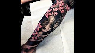 Tattoo Geisha Samurai Jepang - Karisma Jaya