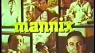 Générique de Mannix, composé par Lalo Schifrin
