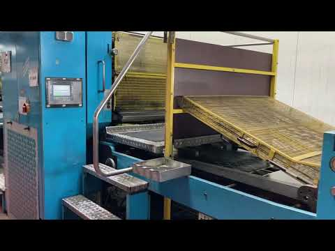 Video - Mailander 122A tandem printing line with LTG tunnel-oven