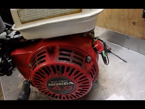 Honda GX120 Why was the Low Oil Killswitch Hotwired