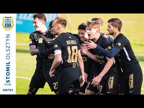 Skrót meczu Stomil Olsztyn - Korona Kielce 2:0