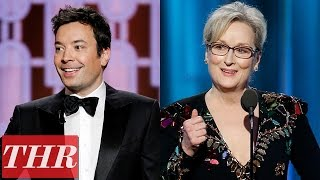 Politics Trump The 2017 Golden Globes Jimmy Fallon Meryl Streep & More