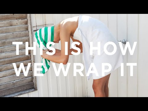 Youtube Video for Hair Wrap - Dry Your Locks in Style!