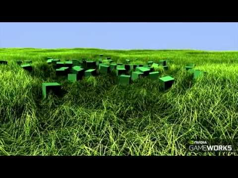 Nvidia's Next-Gen Grass Simulations Are Mesmerising