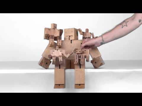 Video zum Areaware Cubebot