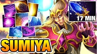 SUMiYa Invoker - No One Can Escape From His Combo Dota2 7.04