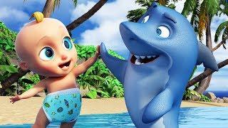 Tubarão Bebê (Baby Shark)   Músicas Infantis | O Reino Infantil