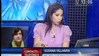 Susana Villarán: Muerte de trabajadora de Emape no debe quedar impune