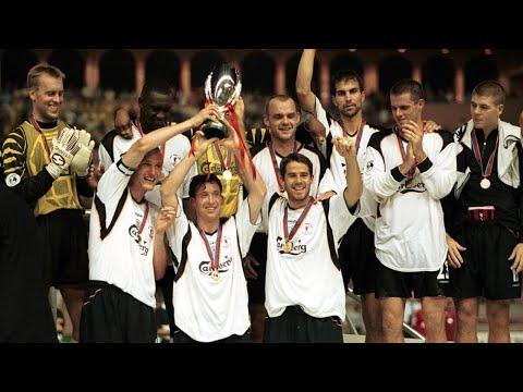 LIVERPOOL 3 -- 2  BAYERN MUNICH  || UEFA SUPER CUP 2001 GOALS AND HIGHLIGHTS