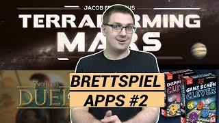 Top 3 Brettspiel Apps der Woche: 7 Wonders Duel, Ganz schön clever, Terraforming Mars