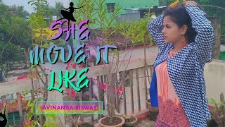 She Move It Like - Badshah | Dance Choreography | By Avinanda Biswas | Freestyle Dance