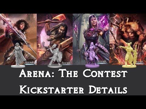 Arena: The Contest Kickstarter Details