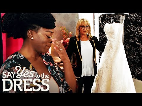Oversized Dress During Her Fitting Makes Bride Burst Into Tears | Say Yes To The Dress UK
