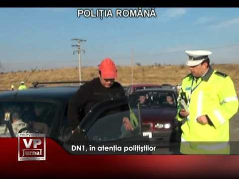 DN1, în atenţia poliţiştilor