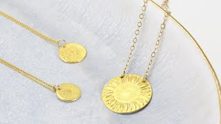 Make Gold Coin Necklace - Keum-boo Jewellery Making