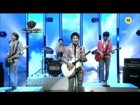 100520 Mnet M!Countdown - CNBLUE - Sweet Holiday