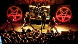 Anthrax - Αmong The Living (live @ Gagarin - Athens, 28/7/13)