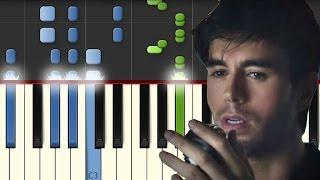 El Perdedor / Enrique Iglesias / Piano Tutorial / Notas Musicales