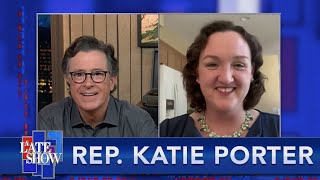 """""""Not Untruthful...Incompetent"""" - Rep. Katie Porter On Trump Officials When They Testify In Congre…"""