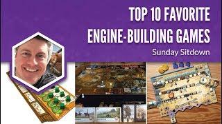 Top 10 Favorite Engine-Building Games (Sunday Sitdown)