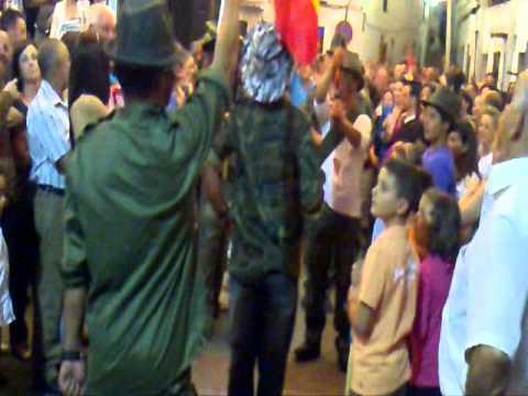 "Tineo. Feria de Istán 2011 - Broma de ""Militares"""