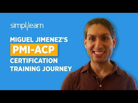 Immediate Success | Miguel Jimenez's PMI-ACP Certification ...