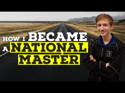 How Caleb Became a National Master   Road to 2000