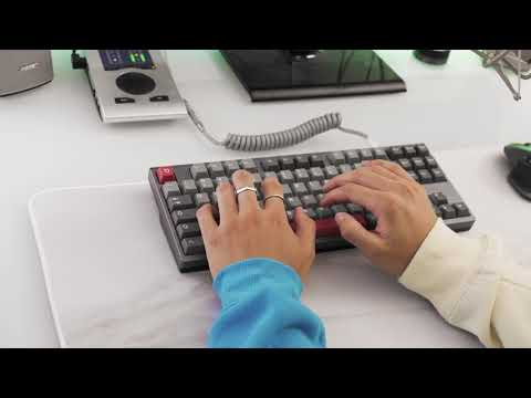 JuNCurryAhn's TGR x Taeha Types Commission with lubed Holy Pandas Typing Sounds ASMR