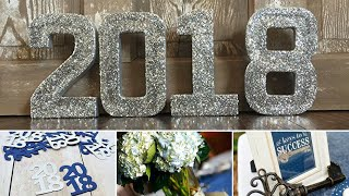 2018 Graduation Party Ideas| DIY's| Dollar Tree Decor & More