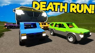 Idiots Try to Outrun a Massive Car in this Survival Game Show in Brick Rigs Multiplayer!