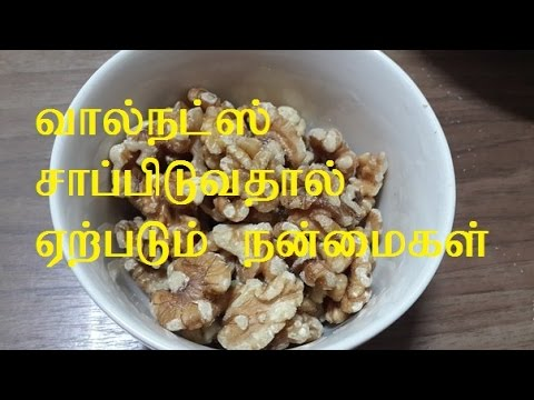 Video HEALTH BENEFITS WALNUTS TAMIL