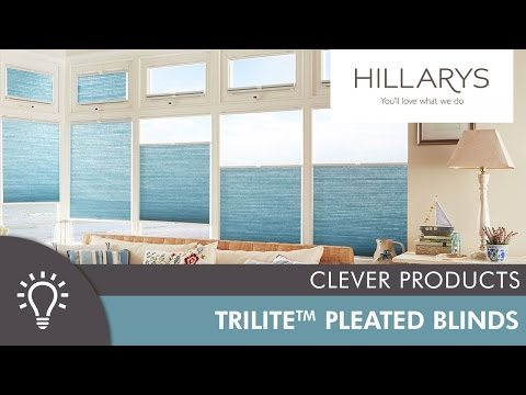 Hillarys Top-Down, Bottom-Up Trilite™ Pleated blinds YouTube video thumbnail