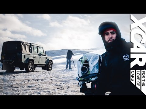 How Our Films Are Made, Aston Martin V12 Vantage: Defender Diaries