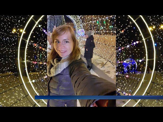 Ангарск украсили к Новому году