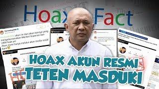 Hoax or Fact: Akun Resmi Teten Masduki Menteri Koperasi dan UKM RI Periode 2019-2024