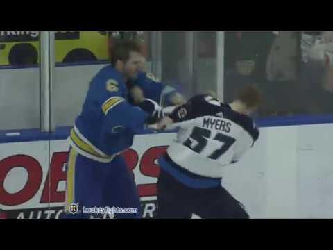 Joel Edmundson vs. Tyler Myers