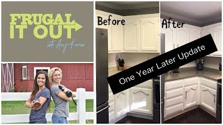 DIY Feather Concrete Counters Brutally Honest Update!!!  (1.5 Years Later)
